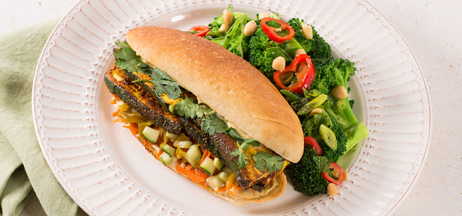 Vegetable Bánh Mì