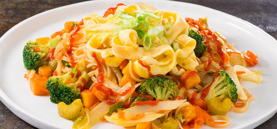 Veggie Singapore Noodles