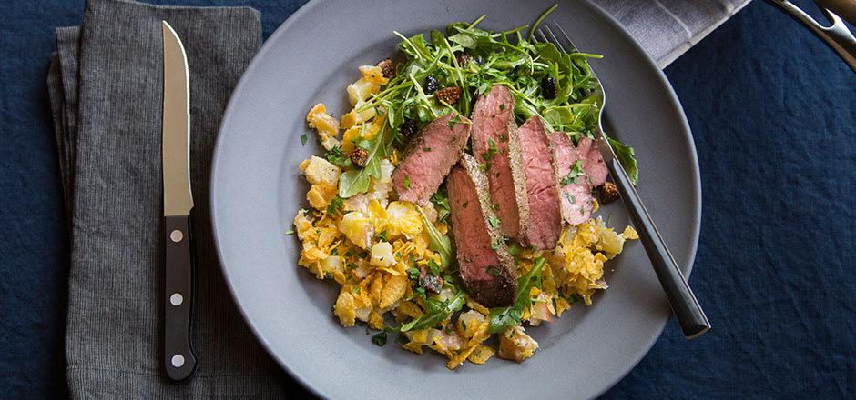 Cumin-Spiced Steak